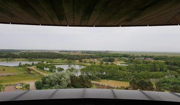 Uitkijk Natuurcentrum Ameland door Door Rob Koster